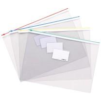 晨光 M&G PVC拉边袋 ADM94503 A5 (红色、蓝色、黄色、绿色) (颜色随机)