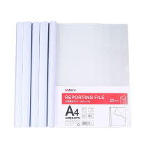 晨光 M&G 抽杆夹 ADMN4279 A4 25mm (白色) (5个/包)