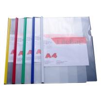 易达 Esselte 加厚型抽杆文件夹 A4 15MM (多色) 独立包装