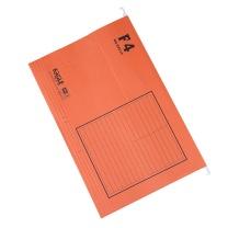 益而高 Eagle 挂快劳文件夹 9351F F4 (橙色) 40片/盒