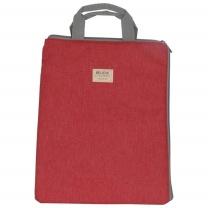 晨光 M&G 手提包 ABBN3074 1/24/72 (蓝色、灰色、红色) 直角拉链、竖式,混色