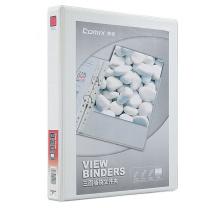 齐心 Comix 封面目录册文件夹 2寸3孔 A0216 A4 (白色)