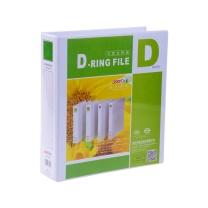 远生 Usign 加插封面文件夹 US-3030D A4 3寸3孔 (白色) 8个/箱