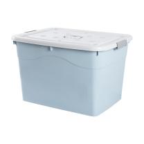 国产塑料特大号收纳箱加厚超大容量整理箱大号家用储物盒 50L长46宽34.5高