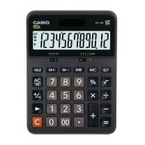 卡西欧 CASIO 12位数字显示办公计算器 DX-12B 中号  10个/盒 (新老包装更替)
