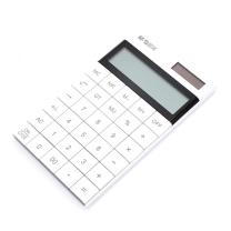 晨光 M&G 简薄平板桌面型计算器 ADG98719 165*100*12.5mm (白色)