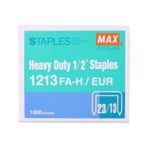 美克司 MAX 重型订书针 23/13 1213FA-H  1000枚/盒 MS92712