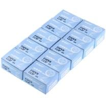 晨光 M&G 纸盒装回形针 ABS91613 3# 28mm  100枚/盒 10盒/组 (合约)