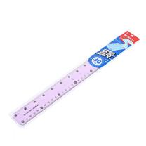 晨光 M&G 紫色软型学生绘图直尺仪尺 ARL96156 30cm