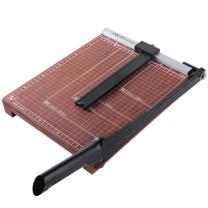 得力 deli 木制切纸刀 8004 A4 可裁15张 (棕色) 48把/箱