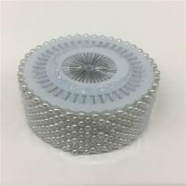 国产 珍珠定位针 480枚/筒 (白色) (Inditex集团链接)