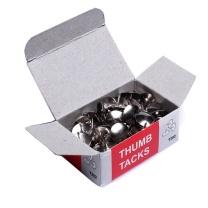 欧标 MATE-IST 图钉 B2601 10*10mm (银色) 100枚/盒 10盒/包