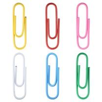 晨光 M&G 袋装彩色回形针防水曲别针 ABSN2661 100枚/袋