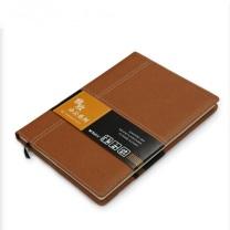 晨光 M&G 雅致办公皮革胶套本 APY4K361 B5 (黑色、红色、蓝色、黄色) 120页/本 (颜色随机)