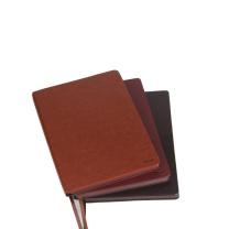 前通 front 商务 软面皮本 D66-B501 B5 (黑棕色) 154页/本