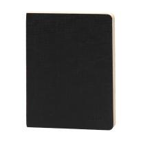前通 front 加厚 记事本 DV69-A601 A6 大72K (黑色) 152页/本 10本/包 (莱尼纹)