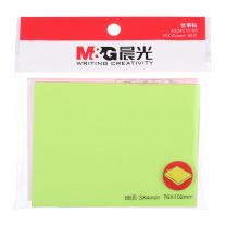 晨光 M&G 时尚办公5色荧光便利便签条 YS-62 102*76mm/88页 (混色)