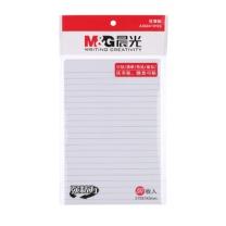 晨光 M&G 横线便利贴 YS-108 A5 (白色) 50页/本