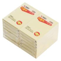 晨光 M&G 自粘便条纸 YS-168 3*2 (黄色) 100页/本 (实惠装)