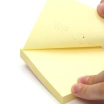 """晨光 M&G 优事贴多彩自粘便条纸 YS-11 AS34D10110 3""""*4"""" 76*102mm (黄色、绿色、蓝色、粉红) 100页/本 20本/盒"""