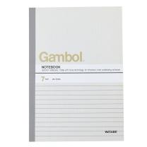 渡边 Gambol 无线装订本 G5607 A5 (混色) 60页/本 10本/封 (颜色随机)