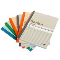 渡边 Gambol 无线装订本 G5807 A5 (混色) 80页/本 6本/封 (颜色随机)