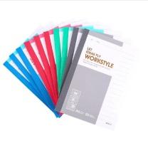 晨光 M&G 无线装订本 APYHA411 A6 (红色、蓝色、绿色、灰色) 50页/本 10本/封 (大包装)(颜色随机)
