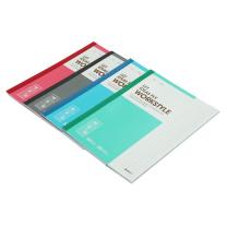 晨光 M&G 无线装订本 APYJV411 A5 (红色、蓝色、绿色、灰色) 30页/本10本/封 (颜色随机)