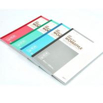 晨光 M&G 无线装订本 APYJY411 B5 (红色、蓝色、绿色、灰色) 100页/本 8本/封 (颜色随机)
