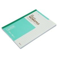 晨光 M&G 无线装订本 APYJU411 A5 (红色、蓝色、绿色、灰色) 80页/本 5本/封 (颜色随机)