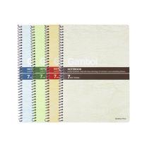 渡边 Gambol 螺旋装订笔记本 S5803 A5 (混色) 80页/本 6本/封 (颜色随机)