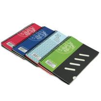 晨光 M&G 时尚办公 PP螺旋装订笔记本 APY7H326 B5 (混色) 100页/本 15本/封 (颜色随机)