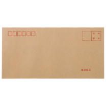 晨光 M&G 信封 AGWN8530  晨光(MG)文具5号牛皮纸信封 220*110mm发票袋 邮局标准信封袋工资袋 20个装