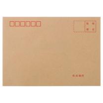 晨光 M&G 信封 AGWN8532  晨光(MG)文具3号牛皮纸信封 176*125mm发票袋 邮局标准信封袋工资袋 20个装