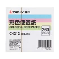 齐心 Comix 便签纸 C4212 94×87mm/260张  1本/包