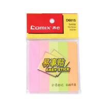 齐心 Comix 便利贴 D6015 100页 (彩色)