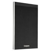 齐心 Comix 空白纸笔记本 C8215 B5 80张 5本/套 (黑色)