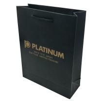 白金 PLATINUM 笔手提黑色袋 纸质