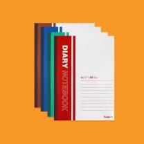 广博 广博GBR51027 包背本A5 40张办公软抄 笔记本 10本 GBR51027 A5 40张