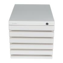 晨光 M&G 五层带锁文件柜 ADM95298 (灰色)