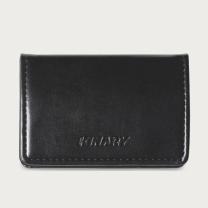 金得利 KINARY 高级皮纹名片夹 OS9009 (黑色) 20个/盒