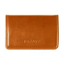 金得利 KINARY 高级皮纹名片夹 OS9009 (浅咖色) 20个/盒
