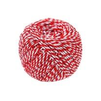 江影清 粽子绳(红白色) 2mm 约90米/卷