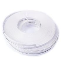国产 PP手动打包带 宽15mm*厚1.0mm*长60m (白色) 16卷/筒