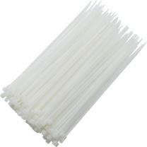 国产 尼龙扎带 宽8*长400mm (白色) 100根/包