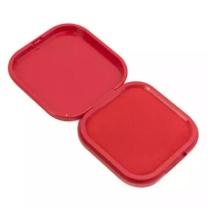 晨光 M&G 印台 AYZ97528 47.8*30.5*52mm (红色) 便携式翻盖