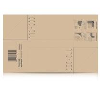 西玛 Simaa 凭证封面通用包角 SZ600201  25套/包