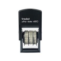 卓达 trodat 回墨中文历日期印 4810/ISO 字高:3.8mm (黑色)