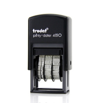 卓达 trodat 回墨英文历日期印 4810/ENGL 字高:3.8mm (黑色)