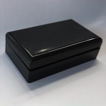 塑料印章盒 (黑色)